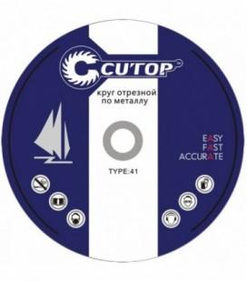 Круг отрезной по металлу Cutop Profi T41 180x2,5x22,2 мм